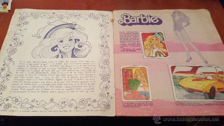 Coleccionismo Álbum: barbie, sticker album, de panini, completo - Foto 7 - 180321285