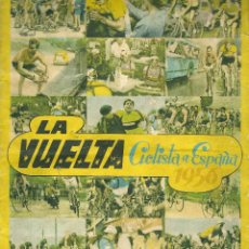 Coleccionismo Álbum: LA VUELTA CICLISTA A ESPAÑA 1956-FHER-COMPLETO. Lote 52771347