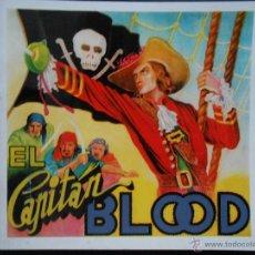 Coleccionismo Álbum: ÁLBUM ANTIGUO NUEVO FACSÍMIL COMPLETO EL CAPITÁN BLOOD FHER CROMOS IMPRESOS. Lote 143155382
