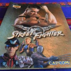 Coleccionismo Álbum: STREET FIGHTER COMPLETO 90 CARDS. UPPER DECK CAPCOM 1994. DIFÍCIL.. Lote 52993700