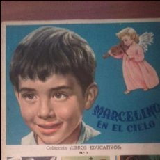 Coleccionismo Álbum: MARCELINO EN EL CIELO ALBUM COMPLETO DE CROMOS EDITORIAL FHER.- AÑO 1958.- 200 CROMOS. Lote 117477792