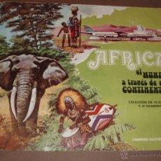Coleccionismo Álbum: ALBUM AFRICA LECHE RAM COMPLETO. Lote 53287983
