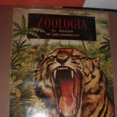 Coleccionismo Álbum: ALBUM ZOOLOGIA FERCA COMPLETO. Lote 53306837