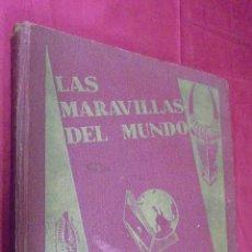 Coleccionismo Álbum: ALBUM DE CROMOS COMPLETO. LAS MARAVILLAS DEL MUNDO. NESTLE. Lote 53378615