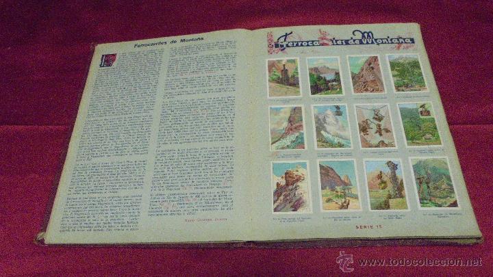 Coleccionismo Álbum: ALBUM DE CROMOS COMPLETO. LAS MARAVILLAS DEL MUNDO. NESTLE - Foto 10 - 53378615