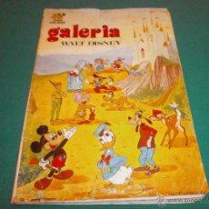 Coleccionismo Álbum: ALBUM COMPLETO DE FHER GALERIA WALT DISNEY DE 1972 210 CROMOS VER FOTOS . Lote 53402467