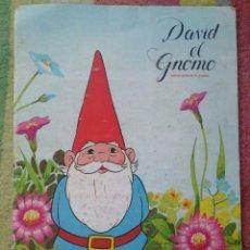 Coleccionismo Álbum: ÁLBUM CROMOS DAVID EL GNOMO DANONE. Lote 53472096