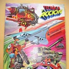Coleccionismo Álbum: ÁLBUM DE CROMOS TÉCNICA Y ACCIÓN, ED. ESTE, COMPLETO 194 CROMOS, AÑO 1980 ERCOM. Lote 51719306