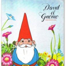 Coleccionismo Álbum: ALBUM CROMOS DAVID EL GNOMO. ED. DANONE, 1985. 20,5X29 CM. COMPLETO. Lote 53771370