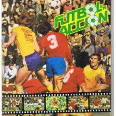 Coleccionismo Álbum: ALBUM CROMOS FUTBOL EN ACCION. ED. DANONE, 1982. 20,5X29 CM. COMPLETO. Lote 53772031