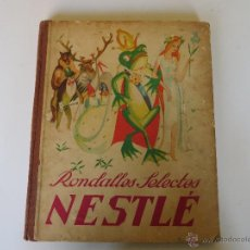 Coleccionismo Álbum: RONDALLES SELECTES NESTLE - 1933 - ALBUM CROMOS COMPLETO. Lote 53953328