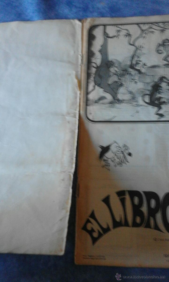 Coleccionismo Álbum: EL LIBRO DE LA SELVA DE WALT DISNEY COMPLETO - EDITORIAL FHER 1966 - Foto 2 - 53993481