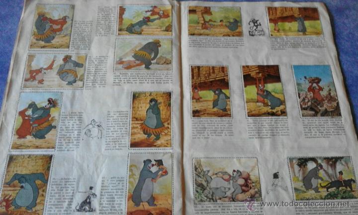 Coleccionismo Álbum: EL LIBRO DE LA SELVA DE WALT DISNEY COMPLETO - EDITORIAL FHER 1966 - Foto 3 - 53993481