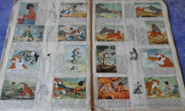 Coleccionismo Álbum: EL LIBRO DE LA SELVA DE WALT DISNEY COMPLETO - EDITORIAL FHER 1966 - Foto 4 - 53993481