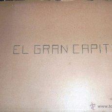 Coleccionismo Álbum: ALBUM 10 CROMOS ARTESANO , EL GRAN CAPITAN BARSAL DESCRIPCION Y 2 MAPAS CAMPAÑAS GRANADA CONQUISTA. Lote 54002291