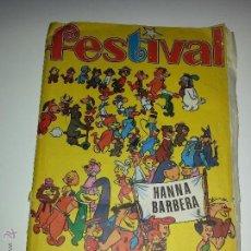 Coleccionismo Álbum: ALBUM DE CROMOS : FESTIVAL DE HANNA BARBERA EDITORIAL FHER AÑO 1971 COMPLETO 210 CROMOS. Lote 54321351