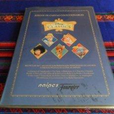 Coleccionismo Álbum: DISNEY CLASSICS COMPLETA NAIPES FOURNIER. REGALO LAS CARTAS TUS PERSONAJES FAVORITOS DISNEY HIPERCOR. Lote 54424477
