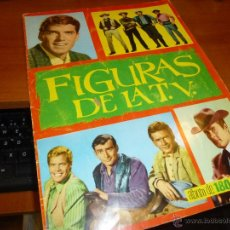 Coleccionismo Álbum: FIGURAS DE LA TV. ALBUM DE 180 CROMOS, COMPLETO. Lote 54495836