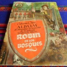 Coleccionismo Álbum: ROBIN DE LOS BOSQUES COMPLETO 144 CROMOS. CLIPER 1948. MUY BUEN ESTADO.. Lote 54672102