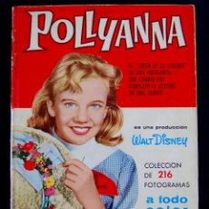 Coleccionismo Álbum: ALBUM POLLYANNA. COMPLETO. 1961. EDITORIAL BRUGUERA. PRODUCCION DE WALT DISNEY.. Lote 54766612
