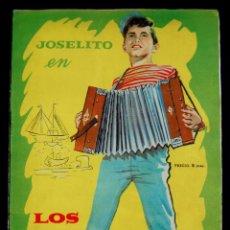 Coleccionismo Álbum: ALBUM JOSELITO EN LOS DOS GOLFILLOS. COMPLETO. 1961. FHER. CON LOS 144 CROMOS.. Lote 54767008