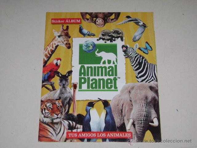 ALBUM ANIMAL PLANET - EDITORIAL NAVARRETE 2006 - 100% COMPLETO (Coleccionismo - Cromos y Álbumes - Álbumes Completos)