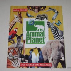 Coleccionismo Álbum: ALBUM ANIMAL PLANET - EDITORIAL NAVARRETE 2006 - 100% COMPLETO. Lote 54835061