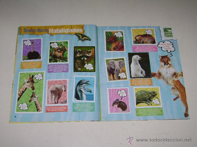 Coleccionismo Álbum: Album Animal Planet - Editorial Navarrete 2006 - 100% Completo - Foto 3 - 54835061