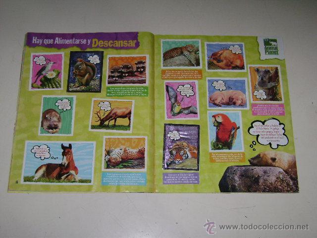 Coleccionismo Álbum: Album Animal Planet - Editorial Navarrete 2006 - 100% Completo - Foto 4 - 54835061