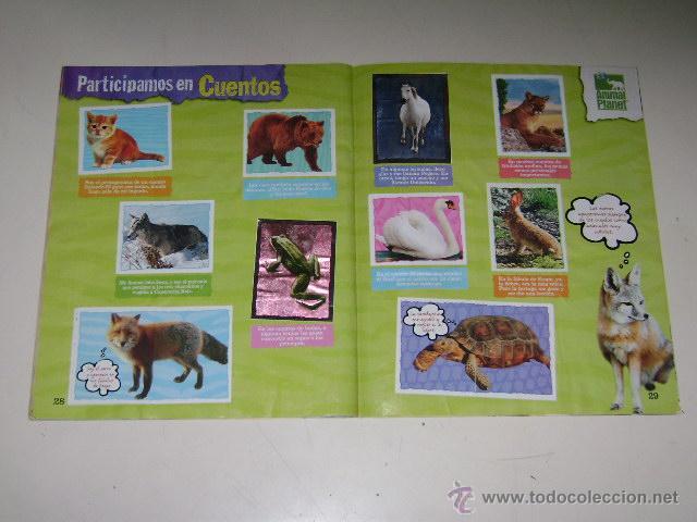 Coleccionismo Álbum: Album Animal Planet - Editorial Navarrete 2006 - 100% Completo - Foto 6 - 54835061
