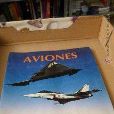Coleccionismo Álbum: AVIONES (PANINI, COMPLETO). Lote 54886586