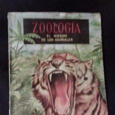 Coleccionismo Álbum: ZOOLOGIA EL MUNDO DE LOS ANIMALES. 192 CROMOS. EDICIONES FERCA. COMPLETO.. Lote 54988692