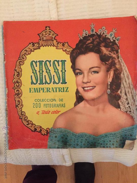 SISSI EMPERATRIZ COMPLETO (Coleccionismo - Cromos y Álbumes - Álbumes Completos)