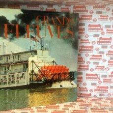 """Coleccionismo Álbum: ANTIGUO ALBUM CROMOS GRANDS FLEUVES """"MISISIPPI """". Lote 55025572"""