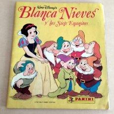 Coleccionismo Álbum: ALBUM DE CROMOS BLANCANIEVES COMPLETO PANINI DISNEY. Lote 55133786
