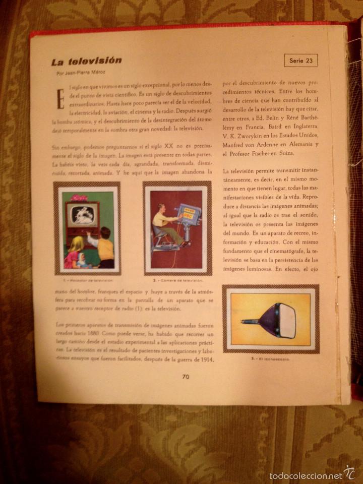 Coleccionismo Álbum: Album cromos Nestlé, LAS MARAVILLAS DEL UNIVERSO - Tomo 1 - Foto 2 - 119889532
