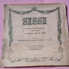 Coleccionismo Álbum: ALBUM SISSI BRUGUERA 1957 COMPLETO. Lote 55367947