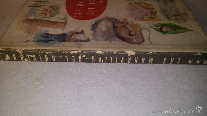 Coleccionismo Álbum: L950 ANTIGUO ALBUM LAS MARAVILLAS DEL UNIVERSO III VOLUMEN COMPLETO EDITA NESTLE 1958, SOBRECUBIERTA - Foto 2 - 55372511