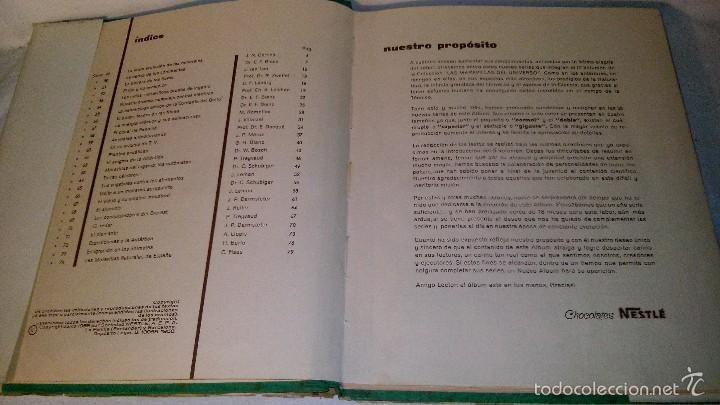 Coleccionismo Álbum: L950 ANTIGUO ALBUM LAS MARAVILLAS DEL UNIVERSO III VOLUMEN COMPLETO EDITA NESTLE 1958, SOBRECUBIERTA - Foto 3 - 55372511