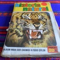 Coleccionismo Álbum: GRAN PRECIO. HISTORIA NATURAL COMPLETO 508 CROMOS. BRUGUERA 1967.. Lote 55700579