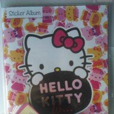 Coleccionismo Álbum: HELLO KITTY IS. ALBUM + TODOS LOS CROMOS SIN PEGAR. COLECCIÓN COMPLETA. Lote 71023143