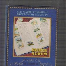 Coleccionismo Álbum: PRIMER ALBUM AHORRO INFANTIL COMPLETO 25 SERIES , CAJA GENERAL DE AHORROS 1947. Lote 55882313