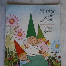 Coleccionismo Álbum: ALBUM COMPLETO - EL LIBRO DE LISA - DAVID EL GNOMO DANONE 1985. Lote 56016485
