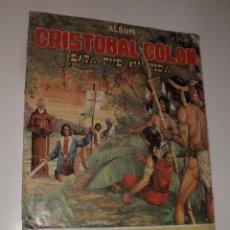 Coleccionismo Álbum: ALBUM CRISTOBAL COLON,ESTA FUE SU VIDA,COSTA GIGARPE,COMPLETO.. Lote 30317959