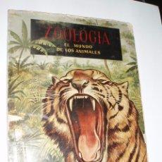 Coleccionismo Álbum: ALBUM COMPLETO ZOOLOGIA EL MUNDO DE LOS ANIMALES FERCA. Lote 56107188