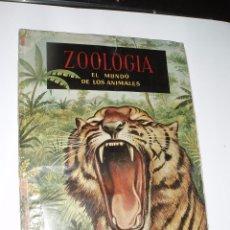 Coleccionismo Álbum: ALBUM COMPLETO ZOOLOGIA EL MUNDO DE LOS ANIMALES FERCA. Lote 56108077