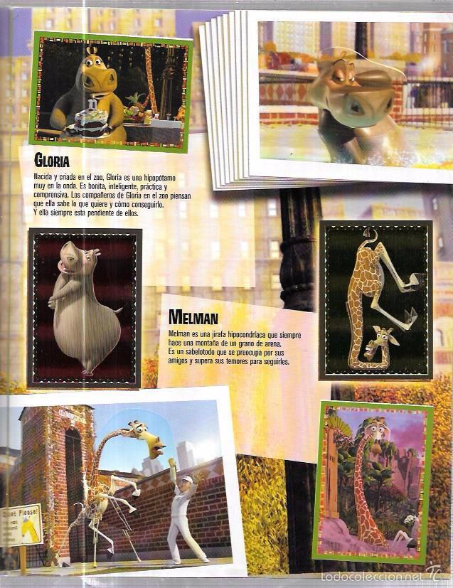 Coleccionismo Álbum: ALBUM. MADAGASCAR. STICKER ALBUM. PANINI. COMPLETO. - Foto 4 - 56116711