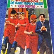 Coleccionismo Álbum: AVENTURAS DE GABY, FOFÓ Y MILIKI CON FOFITO - FHER ¡COMPLETO!. Lote 56181033
