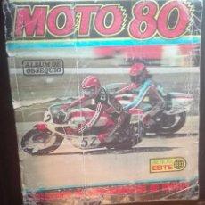 Coleccionismo Álbum: ALBUM DE CROMOS COMPLETO MOTO 80. Lote 56248493