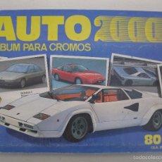 Coleccionismo Álbum: ÁLBUM DE CROMOS - AUTO 2000 - CÓMIC-ROMO - COMPLETO - AÑO 1988.. Lote 56256924